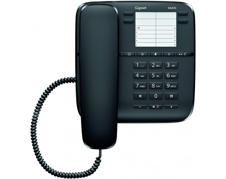 TELEFON FIX GIGASET DA410 NEGRE ( SI-DA410N )