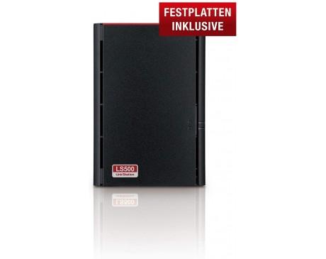 LINKSTATION 520 NAS 6TB 2x3TB DUAL-BAY DUAL CORE ( LS520D )