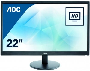"MONITOR LED AOC 21.5"" -..."