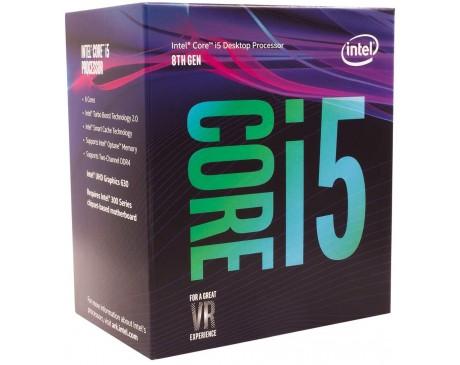 PROCESSADOR INTEL CORE I5-8400 2.8GHz 6 CORES 9MB CACHE LGA1151 UHD GRAPHICS 630 ( BX80684I58400 )