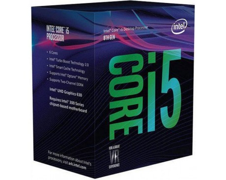 PROCESSADOR INTEL CORE I5-8600K 3.60GHz 6 NUCLIS SOCKET LGA1151 9MB CACHE HD GRAPHICS 405 ( BX80684I58600K )