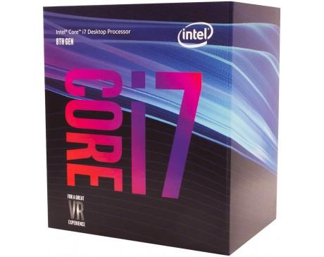 PROCESSADO INTEL CORE I7-8700 3.2Ghz 12MB LGA1151 BOX ( BX80684I78700 )