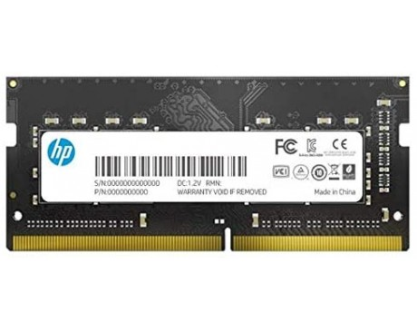 MEMORIA HP S1 - 4GB RAM - DDR4-2666MHZ - 260 PINES - 1.2V - SODIMM ( 7EH97AA )