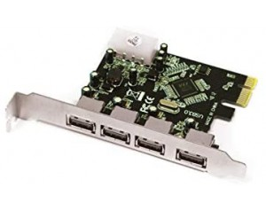 TARGETA USB 3.0 4 PORTS...