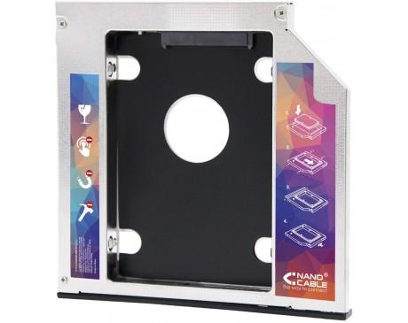 """ADAPTADOR NANO CABLE DE DISC DUR HD SSD DE 9.5mm 2.5"""" SATA ( 10.99.0101 )"""