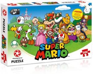 PUZZLE 500 SUPER MARIO AND...